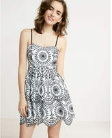 Express Tiered Eyelet Cami Dress