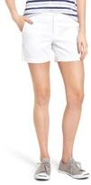 Women's Caslon Cotton Twill Shorts