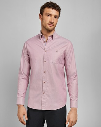 Ted Baker ZACHARI Long sleeved cotton shirt