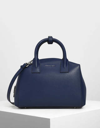 Charles & Keith Classic Structured Top Handle Bag