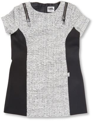 Karl Lagerfeld Paris Colorblocked Shift Dress