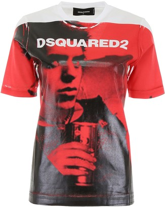 DSQUARED2 Graphic Printed T-Shirt
