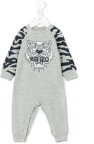 Kenzo tiger printed body - kids - Cotton/Polyester - 1 mth