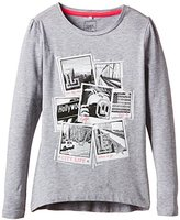 Name It Girl's Long-Sleeved Shirt - Grey -