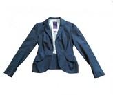 John Galliano Grey Wool Jacket for Women Vintage