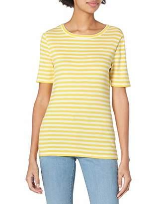 J.Crew Women's Plus Size Slim Perfect T-Shirt in Stripe