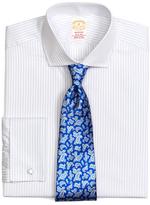 Brooks Brothers Golden Fleece® Madison Fit Framed Stripe French Cuff Dress Shirt