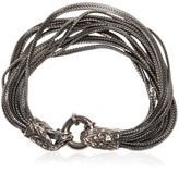 Emanuele Bicocchi Multi Chain Bracelet With Skull Detail