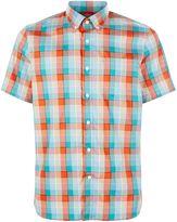 Victorinox Static Blur S/s Check Shirt