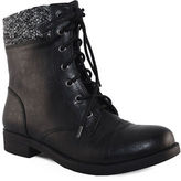 Lexi And Abbie Malaga Lace-Up Sweater Collar Boots