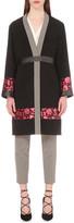 Etro Floral-print wool-crepe coat