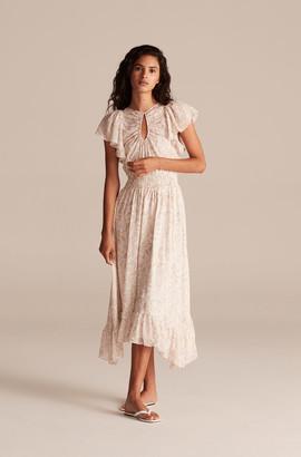 Rebecca Taylor Zadie Fleur Smock Waist Dress