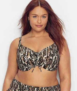 Elomi Plus Size Fierce Underwire Bikini Crop Top