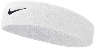 Nike Swoosh Headband White / Black OSFA