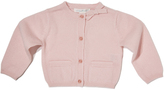 Marie Chantal Cashmere Bow Baby Cardigan