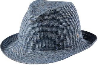 Helen Kaminski Fai Packable Raffia Fedora Hat