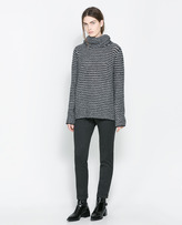 Zara Sweater With Loose Turtle Neck