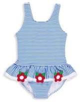 Florence Eiseman Toddler's & Little Girl's Skirted Striped Swimsuit
