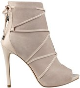 GUESS Women's Ayana Peep-Toe Booties