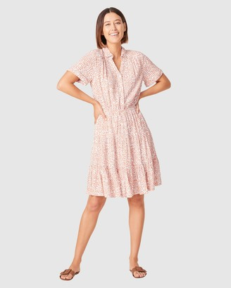 French Connection Women's Dresses - Crinkle Ditsy Floral Dress - Size One Size, 10 at The Iconic