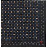 Isaia Men's Dotted Wool-Silk Pocket Square