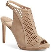 Diane von Furstenberg Women's 'Lyon' Slingback Peep Toe Sandal