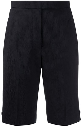 Thom Browne High-Waisted Bermuda Shorts