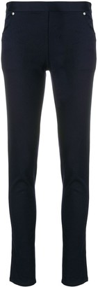 Chalayan High-Waisted Skinny Trousers