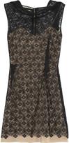 Roland Mouret Zonda lace mini dress