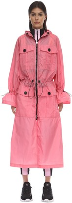 NO KA 'OI Recognition Nylon Trench Coat