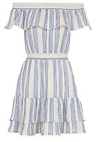 LOVESHACKFANCY Elizabeth Striped Dress