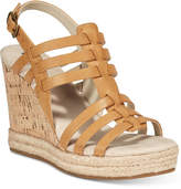 White Mountain Veronique Platform Wedge Sandals Women's Shoes