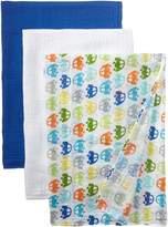 I Play I-Play Unisex-Baby Newborn Organic Muslin Blanket 3 Piece Gift Set