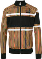 MSGM striped bomber jacket