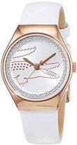 Lacoste Valencia 2000896 – Ladies Watch – Analogue Quartz – White Dial – Bracelet