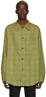 Cmmn Swdn Yellow Check Sergey Overshirt