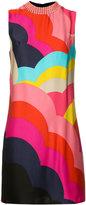 Trina Turk embellished neck shift dress