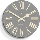 Newgate Clocks - Time Clock - Posh Grey - 50cm dia