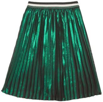 Catimini Mid-Length Pleated Skirt