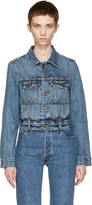 Vetements Blue Levi's Edition Reworked Denim Jacket