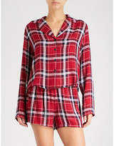 Rails Check flannel pyjama set