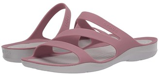 Crocs Swiftwater Sandal (Navy/White) Women's Sandals