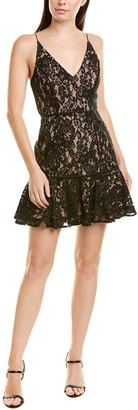 Keepsake Dreamers Lace Mini Dress