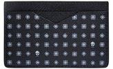 Alexander Mcqueen Hexagon Skull Print Card Holder