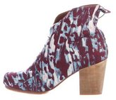 Rachel Comey Printed Ankle Boots