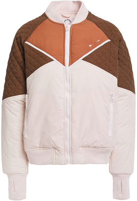 The Upside Color-block Quilted Shell Jacket