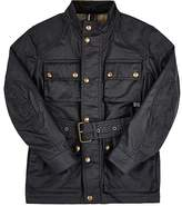 Belstaff Kids' Coated-Cotton Belted Jacket