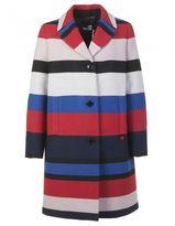 Love Moschino Fabric Cocoon Coat