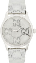 Gucci Silver GG Hologram G-Timeless Watch