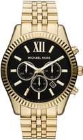 Michael Kors MK8286 Lexington Gold Tone Chronograph Mens Watch